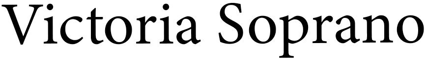 Logo Victoria Soprano