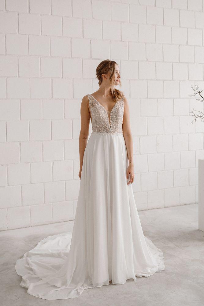 Bild 3 des Brautkleid maleika – bridal couture - Brigitte